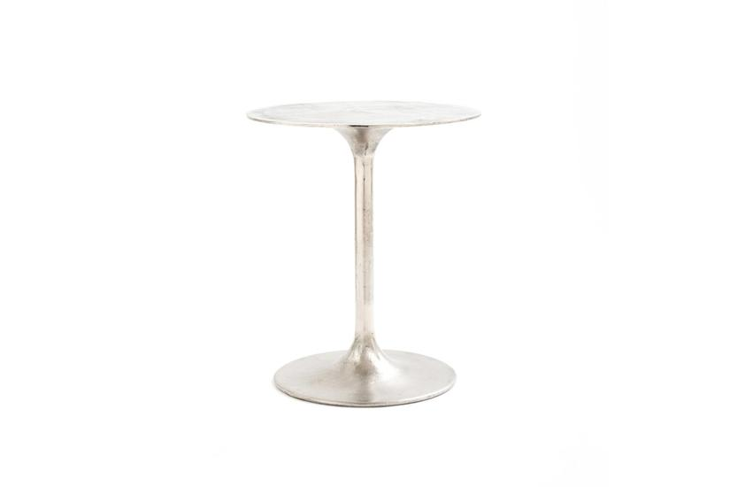 Tulip Side Table - Nickel