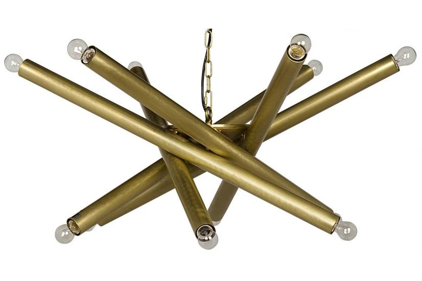 Lex Chandelier - Brass