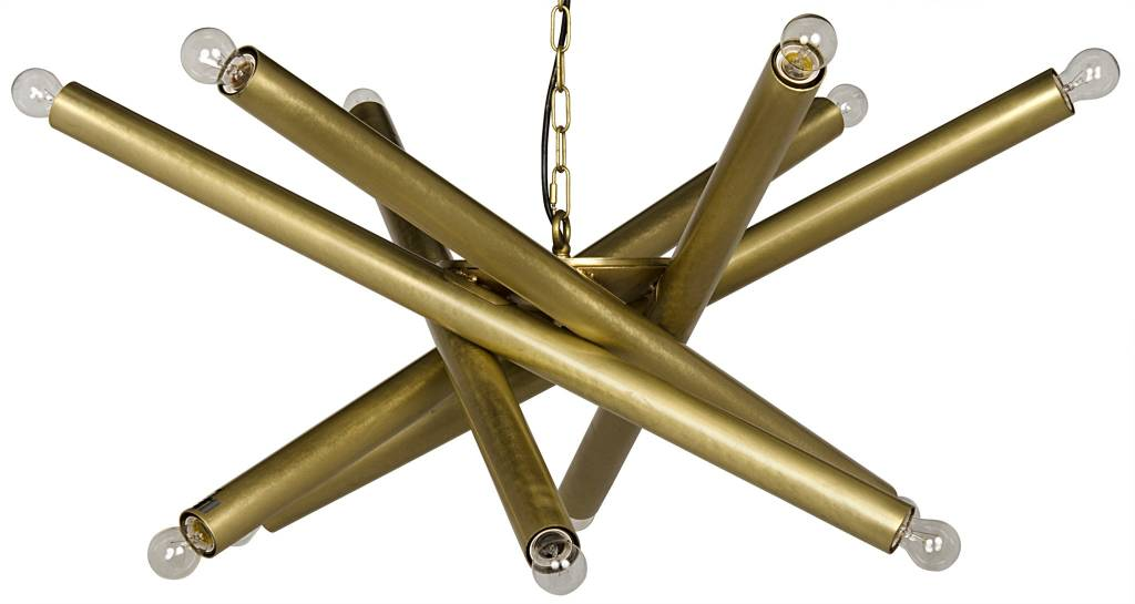 Lex Chandelier - Brass