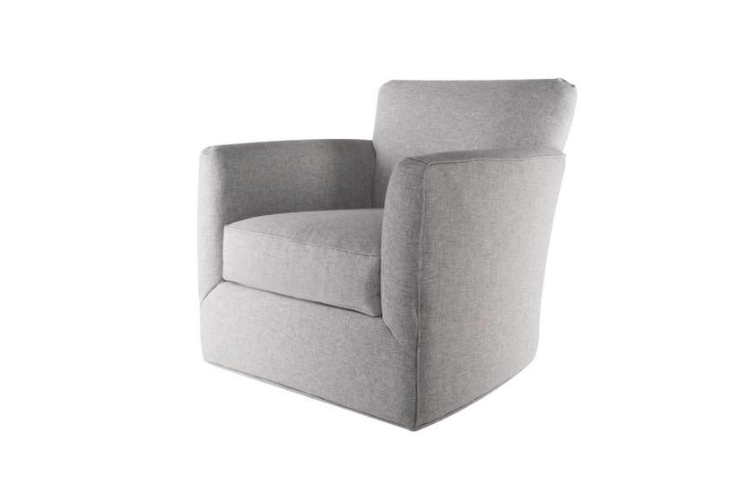 Paris Swivel Chair - Felt Grey