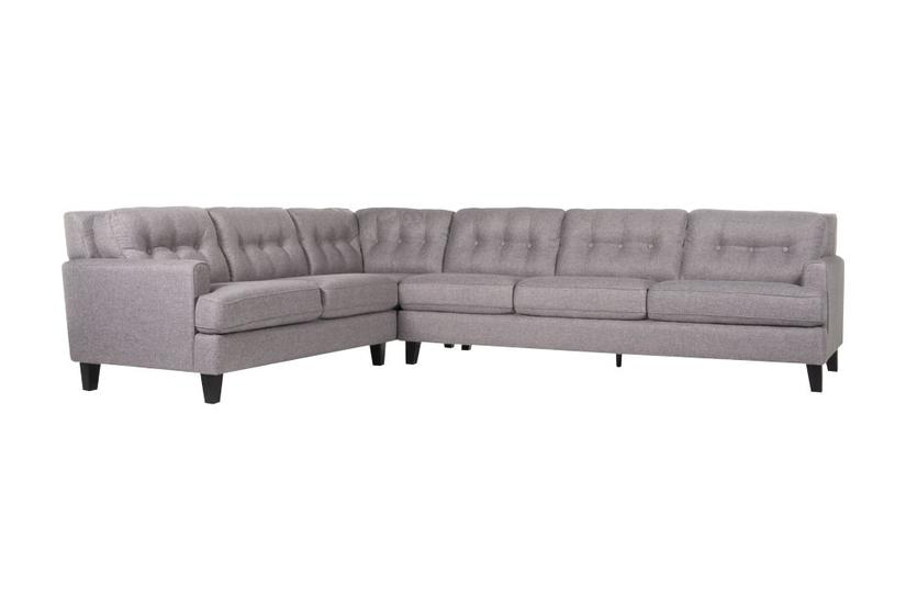 Bates Sectional - Pewter