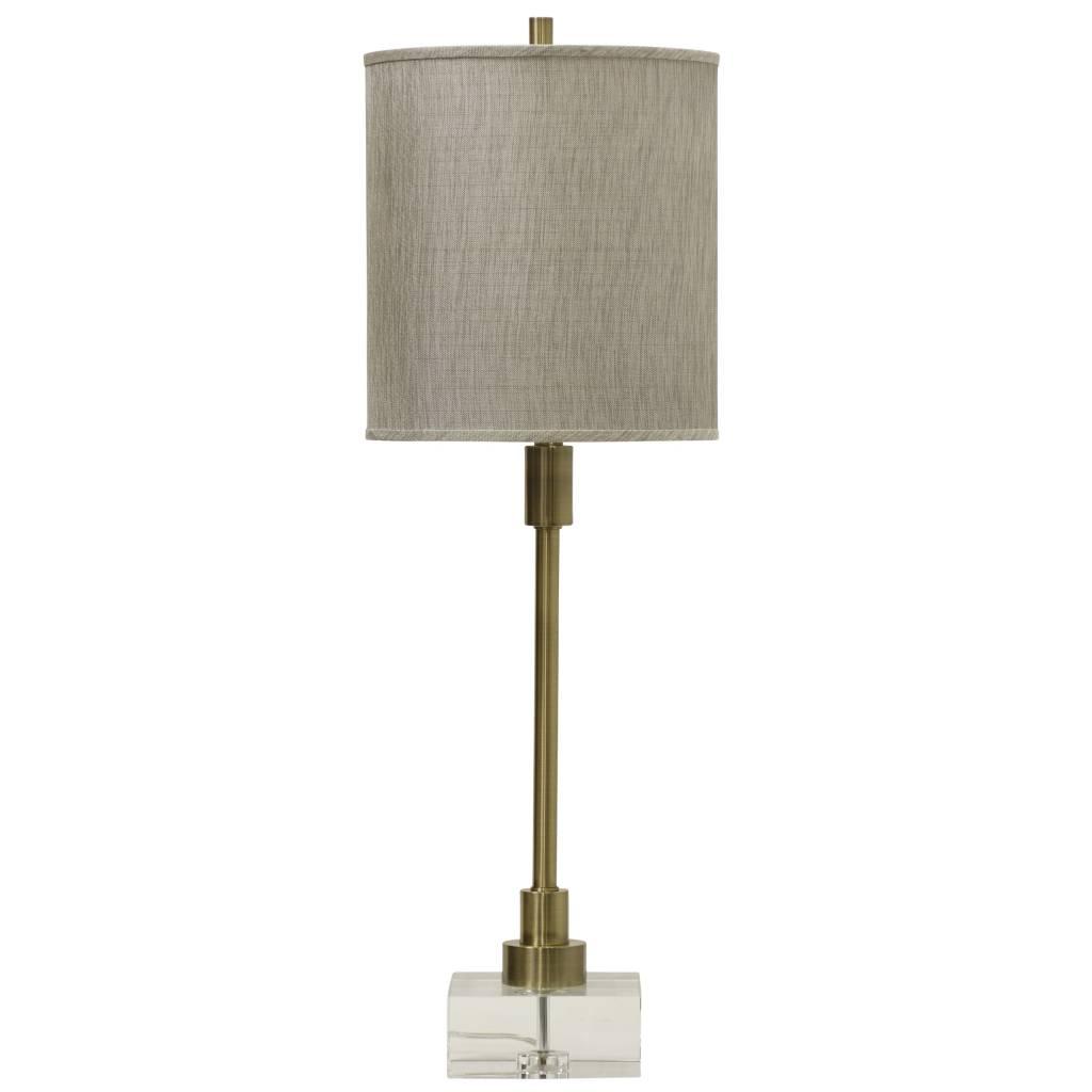 Harp Bar Lamp: LENOX TABLE LAMP - HOWSE