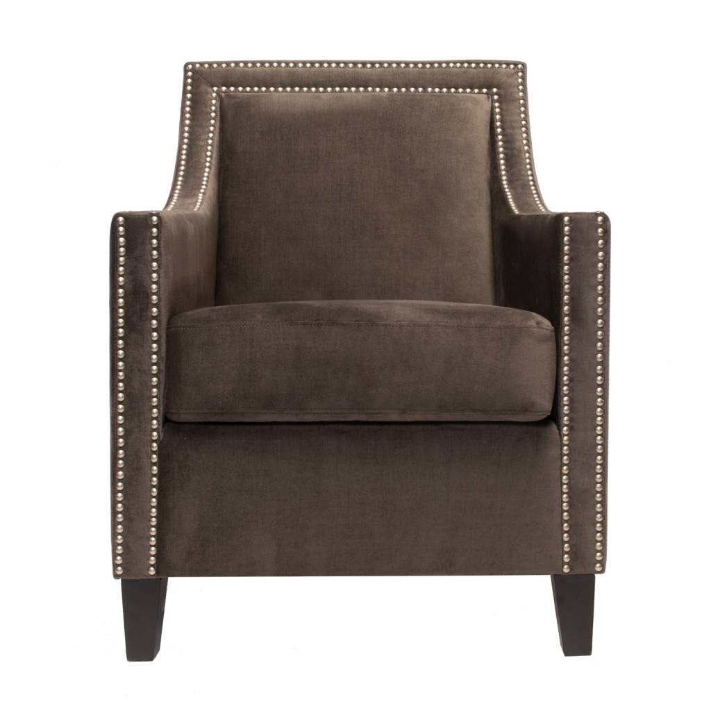 COLLINS ARM CHAIR - GRAY