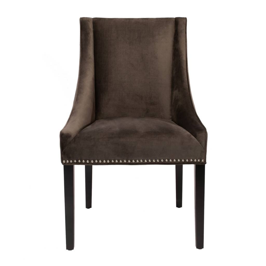 COLLINS SIDE CHAIR - GRAY