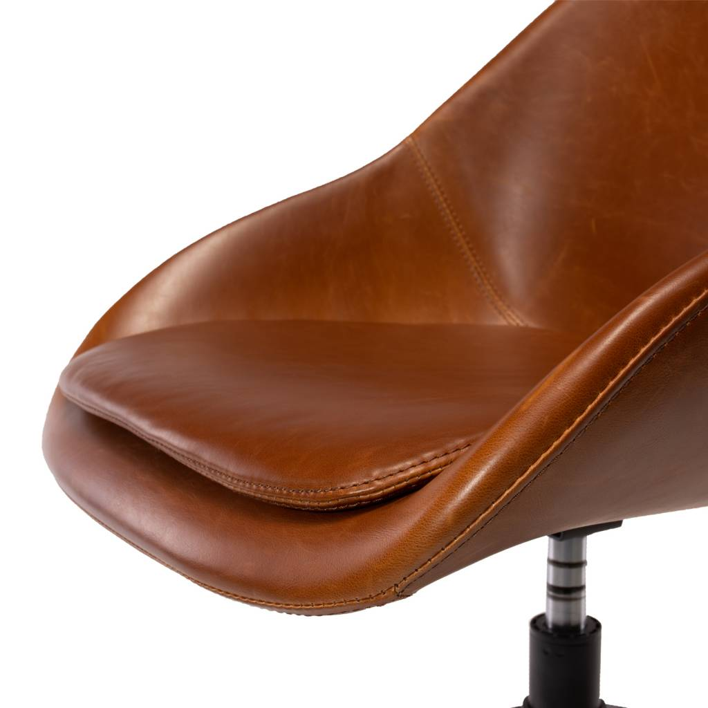 DICKSON ROLL CHAIR - BROWN