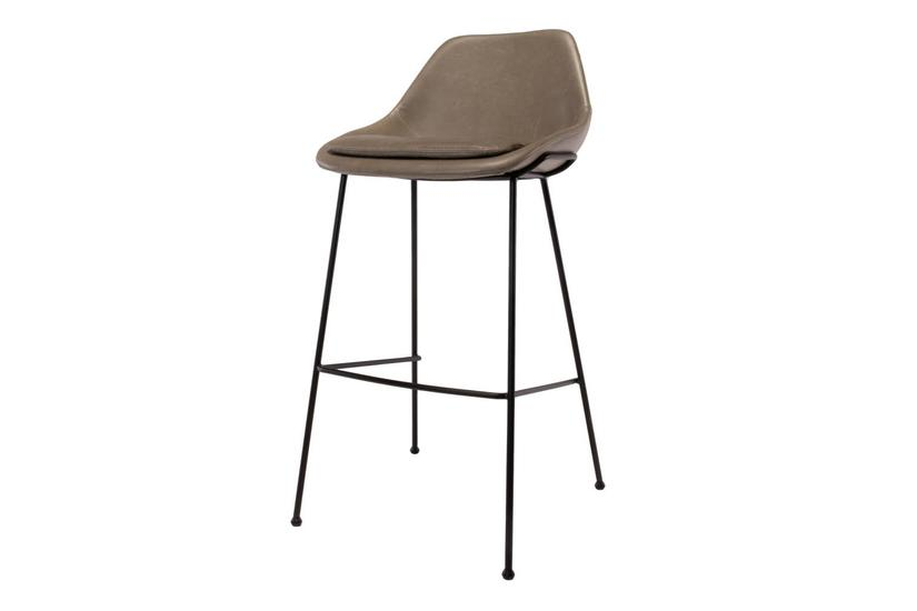 DICKSON COUNTER STOOL - GREY