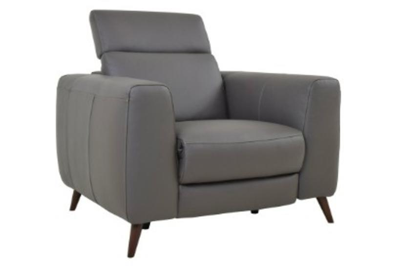 GETTY RECLINER - GRAY