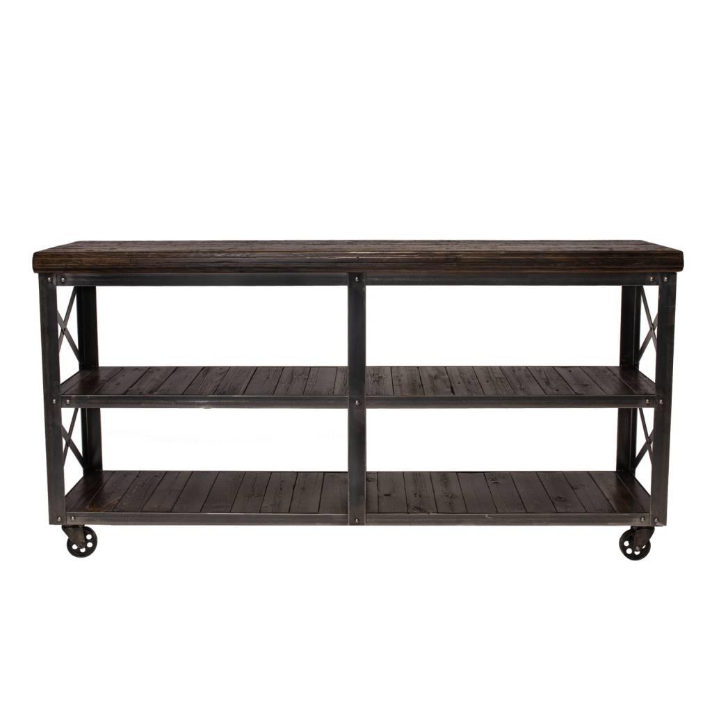 SHERWOOD CONSOLE TABLE - WALNUT