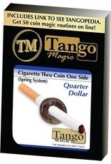 Empire Cigarette thru Quarter