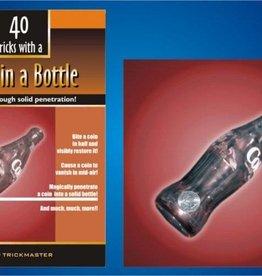 Trickmaster Coin In Bottle (w/ book)