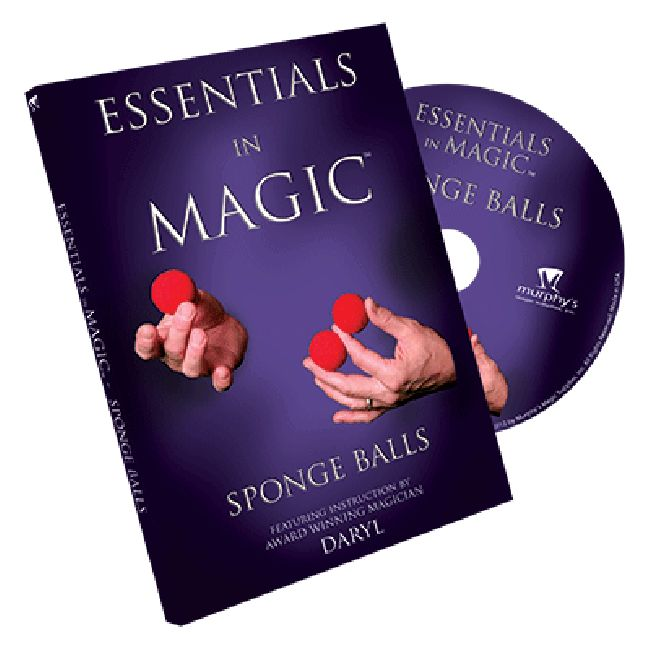 Essentials in Magic Sponge Balls - DVD