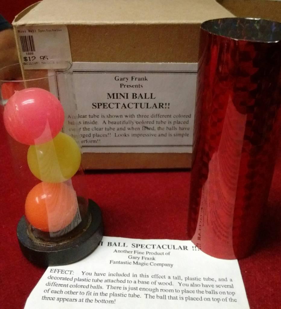 Gary Frank Presents Mini Ball Spectactular