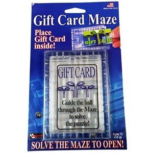 Fun Inc. Gift Card Maze
