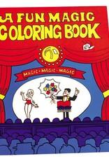 Trickmaster Magic Coloring Book