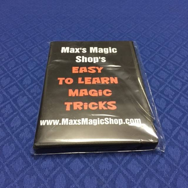 Max Krause Max's Magic Shop Easy to learn Magic Tricks