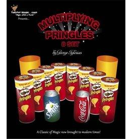 Twister Magic.com Multiplying Pringles Cans