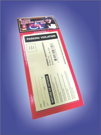 Trickmaster Parking Violation Deluxe