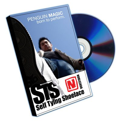 Penguin Self Tying Shoelace (DVD and Props) by Jay Noblezada