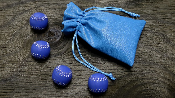 Murphy's Set of 4 Leather Balls for Cups and Balls