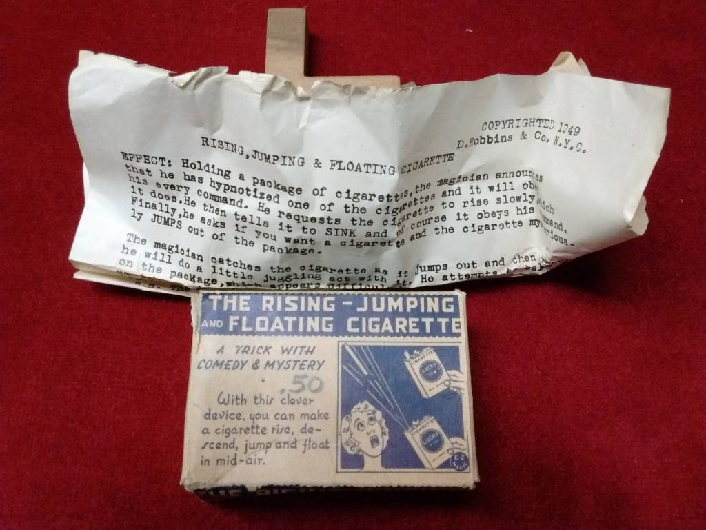 The Rising-Jumping and Floating Cigarette