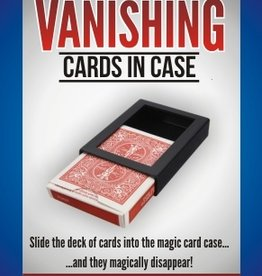 Trickmaster Vanishing Cards In Case