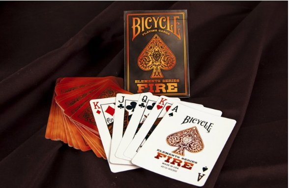 Bicycle Bicycle Element Series - Fire Deck