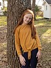 Girls L/S Tied Sweater Tunic