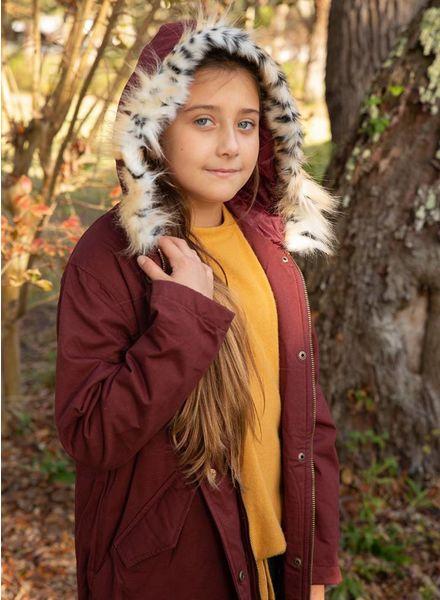 Kids Cargo Jacket w/ Fur