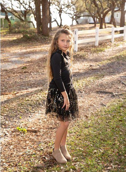 Kids Sequin Skirt