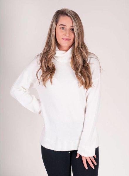 Eleanor L/S Knit Turtleneck Sweater