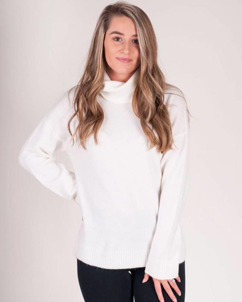Eleanor L/S Knit Turtleneck Sweater