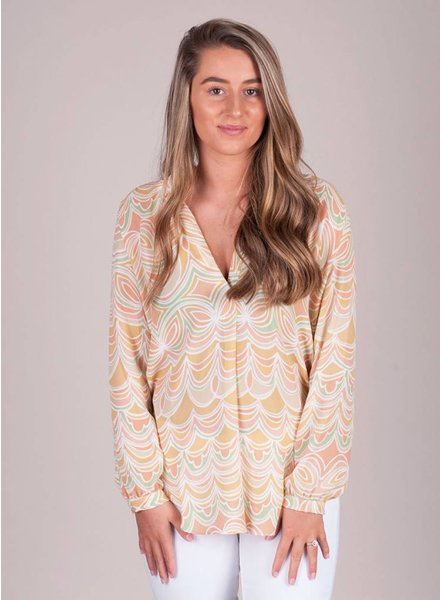 Esther Malibu Sorbet Blouse