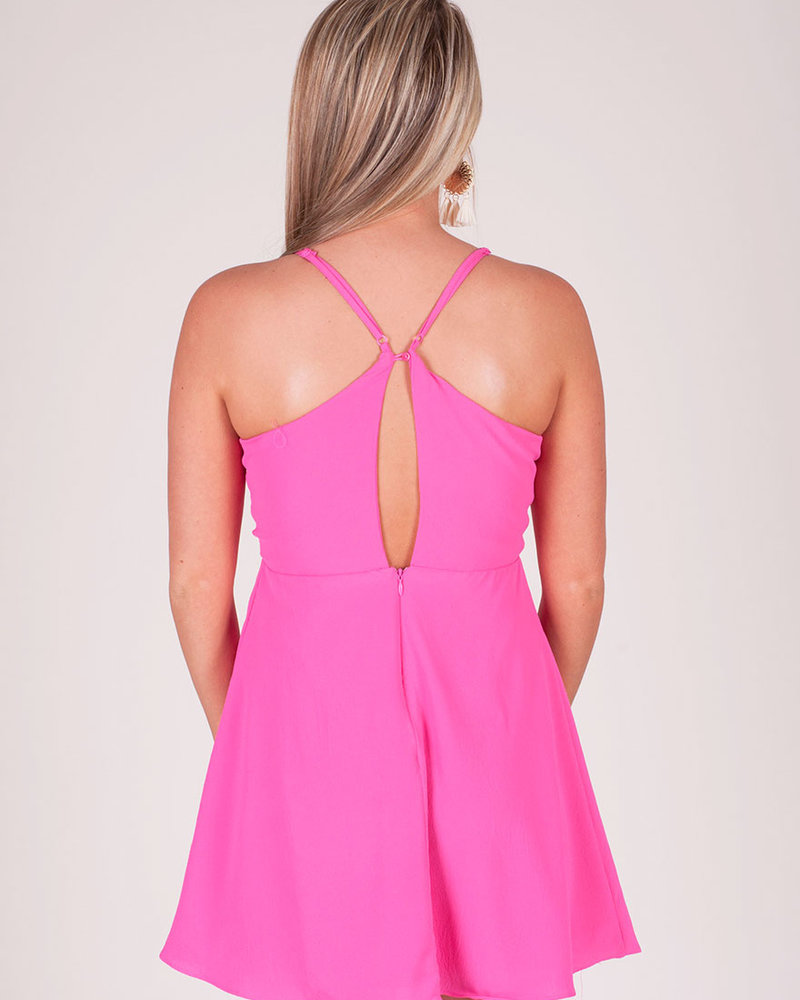 Hazel Tie Front Dress