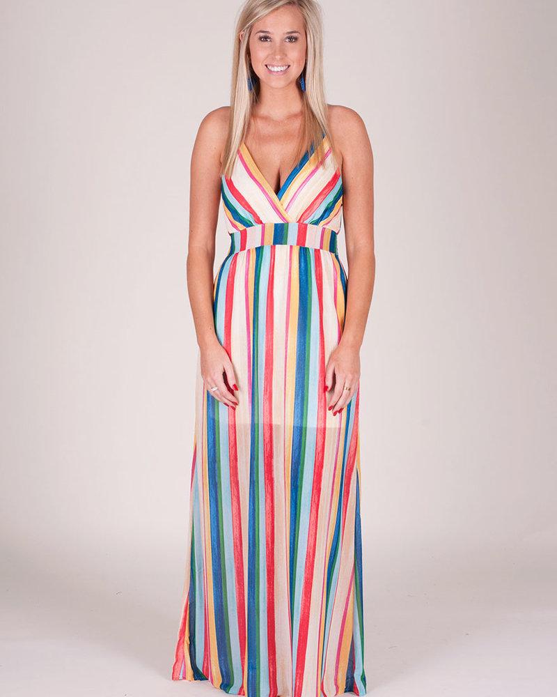 Alexis Stripe Maxi Dress