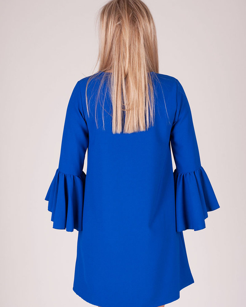 Natalia Bell Sleeve Dress