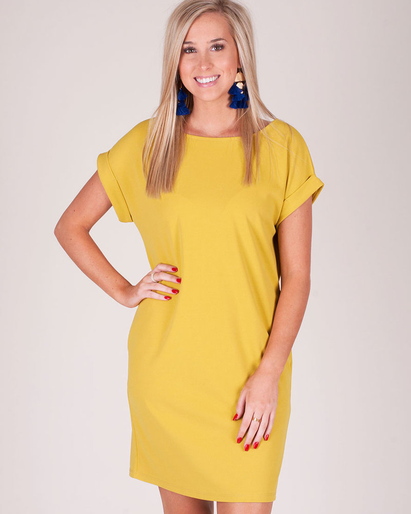 Stella T-shirt Dress w/ Pockets