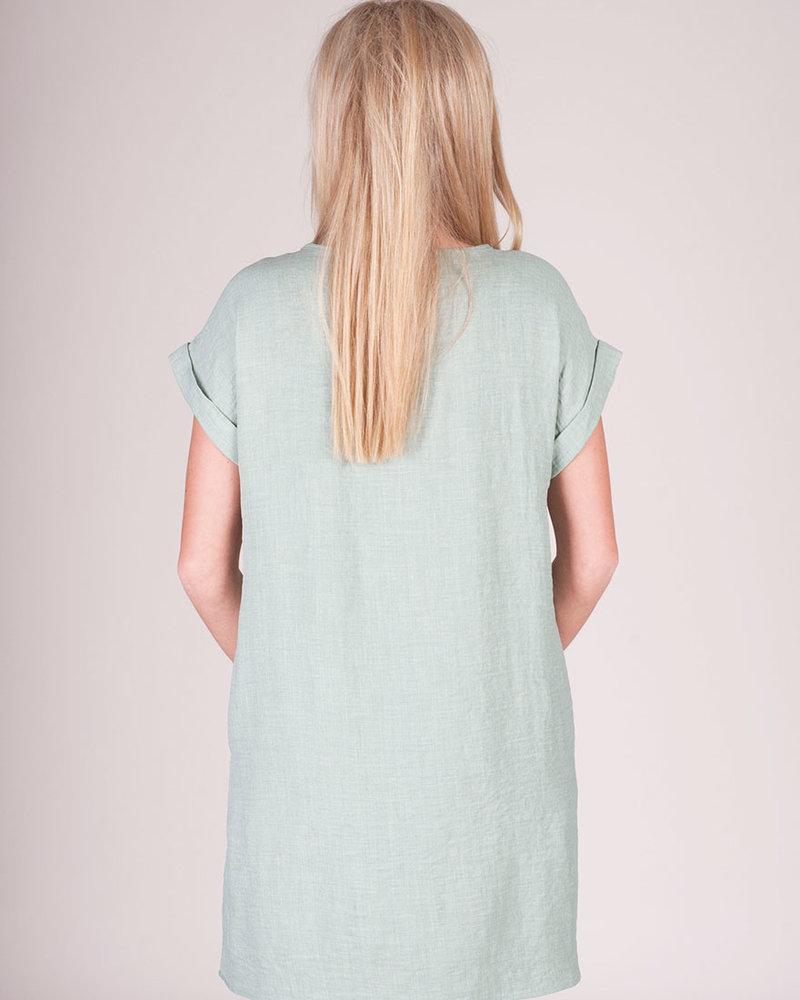 Willow Linen TShirt Dress