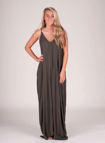 Mila Cocoon Maxi Dress
