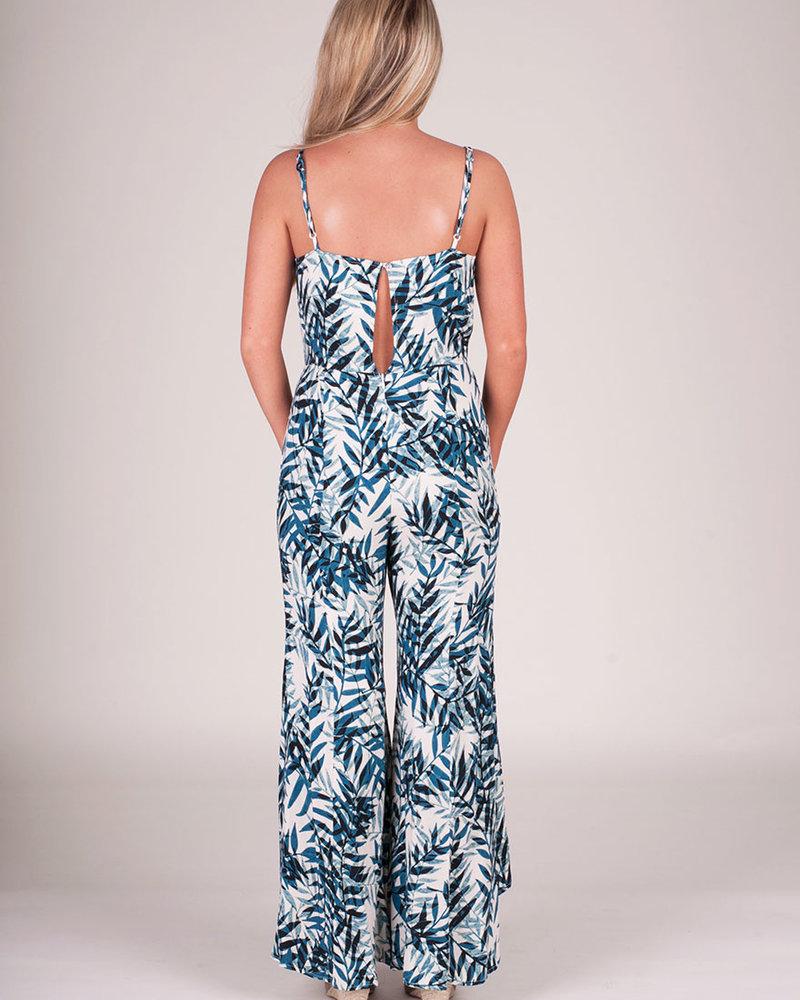 Lillian Palm Jumpsuit