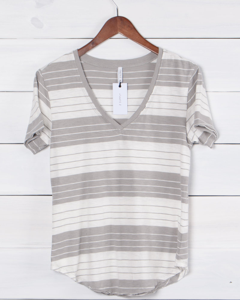 Z Supply - The Mesa Stripe Slouchy Tee