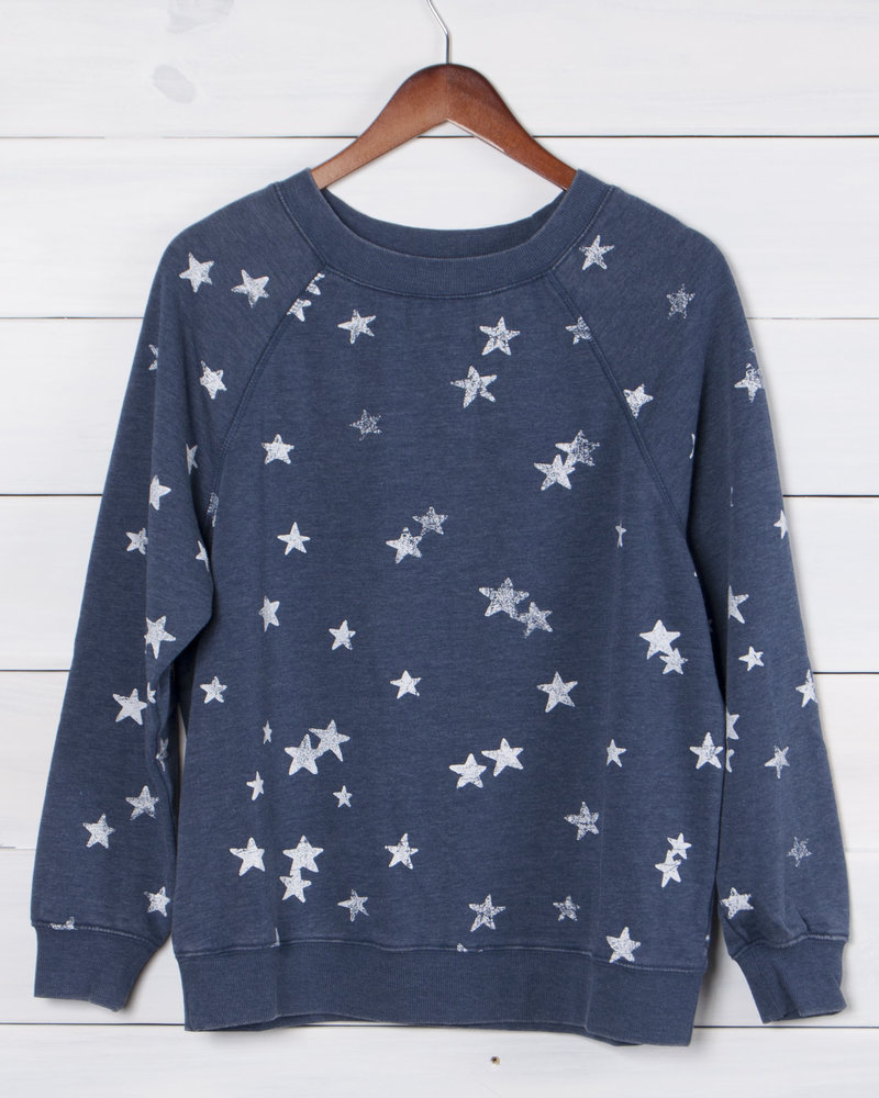 Z Supply - The Distressed Star Pullover