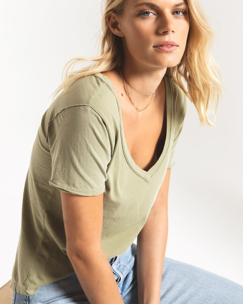 Z Supply - The Organic Cotton VNeck Tee