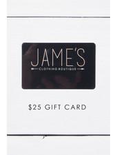 $25 Jame's Gift Card