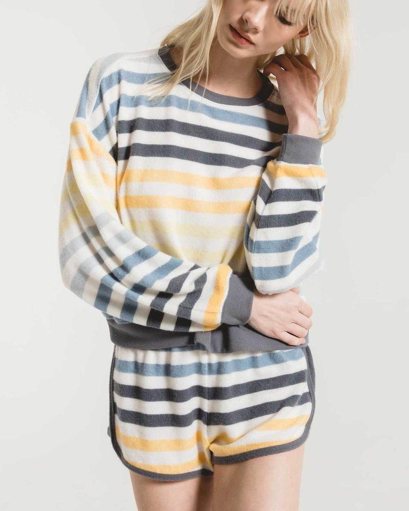 Z Supply - The Rainbow Stripe Pullover