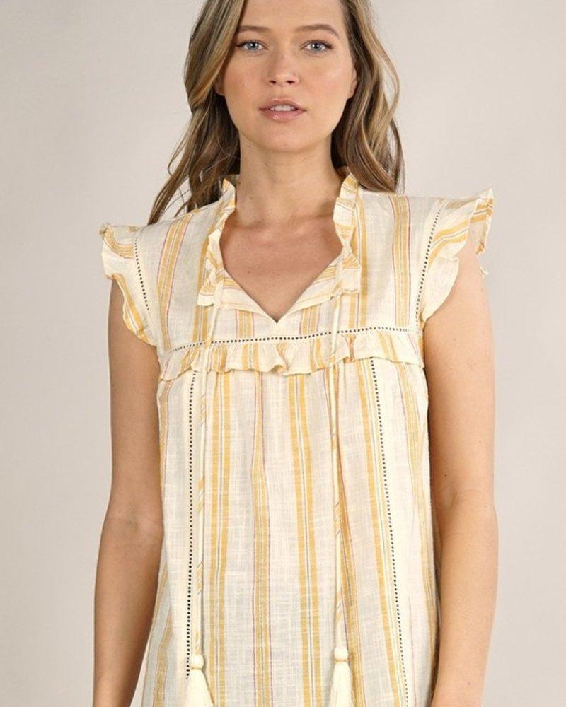 Nora Flutter Sleeve Top