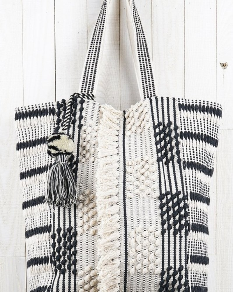 Patterned Picnic Tote