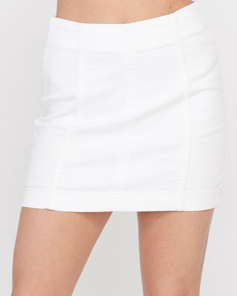 Stacey Sateen Skirt