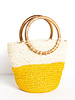 Ink+Alloy - Color Block Jute Bag