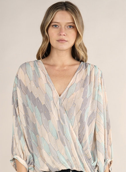 Savannah Surplice Top