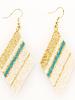 Ink+Alloy - Diamond Luxe Stripe Earring